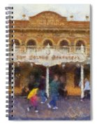 Golden Horseshoe Frontierland Disneyland Photo Art 02 Spiral Notebook