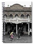 Golden Horseshoe Frontierland Disneyland Sc Spiral Notebook