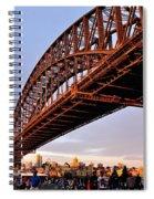 Golden Hour Festivities Spiral Notebook