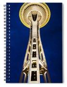 Golden Hour Tower Spiral Notebook