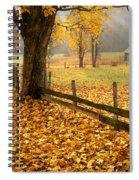 Golden Hours Spiral Notebook