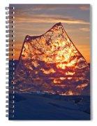 Solid Gold Spiral Notebook
