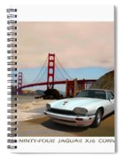 Golden Jaguar Spiral Notebook