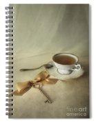Golden Key Spiral Notebook
