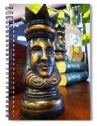 Golden King Spiral Notebook