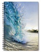 Golden Mile Spiral Notebook