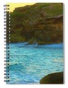 Golden Mujere Spiral Notebook