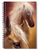 Golden Palomino Spiral Notebook