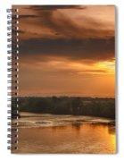 Golden Payette River Spiral Notebook