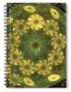 Golden Pebbles Spiral Notebook