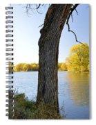 Golden Pond Panorama Spiral Notebook