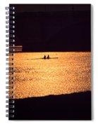 Golden Potomac Spiral Notebook