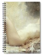 Golden Rain Spiral Notebook