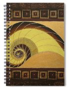 Golden Ratio Spiral Spiral Notebook