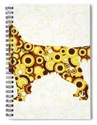 Golden Retriever - Animal Art Spiral Notebook