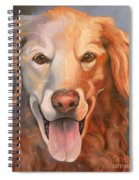 Golden Retriever Till There Was You Spiral Notebook