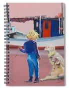 Golden Retrievers Spiral Notebook