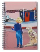 Golden Retrievers Spiral Notebook