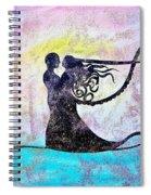 Golden Romance Spiral Notebook