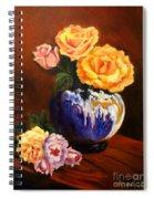 Golden Roses Jenny Lee Discount Spiral Notebook