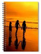 Golden Sands  Spiral Notebook
