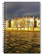Golden Seine Spiral Notebook