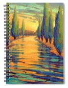 Golden Silence 3 Spiral Notebook
