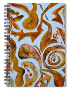 Golden Slumbers Spiral Notebook