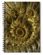 Golden Spiral Spiral Notebook