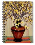 Golden Spray -1 Spiral Notebook