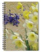 Golden Spring Spiral Notebook
