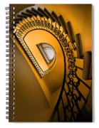 Golden Staircase Spiral Notebook