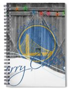 Golden State Warriors Spiral Notebook