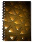 Golden Stonework  Spiral Notebook