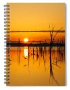 Golden Sunrise IIi Spiral Notebook