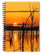 Golden Sunrise Spiral Notebook