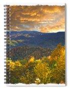 Golden Tipped Smokey's  Spiral Notebook