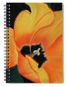 Golden Tulip Spiral Notebook