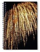 Golden Umbrella Spiral Notebook