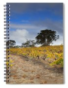 Golden Vines Spiral Notebook
