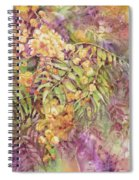 Golden Wattle Spiral Notebook