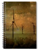 The Golden Winds Blew The Stars Spiral Notebook