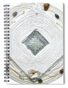 Golden Jerusalem Lemuria Healed Love Spiral Notebook