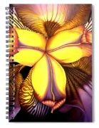 Goldie's Iris Spiral Notebook