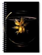 Golden Fish Spiral Notebook