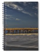 Goleta Beach And Pier Spiral Notebook