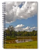 Golf Course Landscape Spiral Notebook