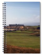 Golf Course On Half Moon Bay Spiral Notebook