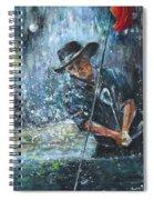 Golf Delirium Nocturnum 02 Spiral Notebook
