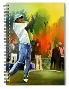 Golf In Gut Laerchehof Germany 01 Spiral Notebook